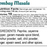 Label: Bina Mehta- Bombay Masala Final