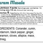 Label: Bina Mehta Garam Masala Final