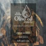 Olive Wood Smoked Infused Olive Oil Style Tag