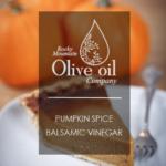 Pumpkin Pie Spiced White Balsamic Vinegar Style Tab