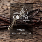 Vanilla Dark Balsamic Vinegar Style Tag
