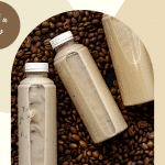 Beige and Tan Coffee Modern Elegance Beverages Facebook Shops Cover (1)