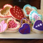 heart cookie boxes